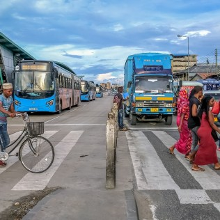 The Tanzanian capital, one of the fastest growing cities in the world, recently opened the first of six phases of the first high quality bus rapid transit system in East Africa, DART. Cycling is a major part of this transformation, with new, protected cycling lanes along the central Morogoro Road. A full bike network and bikeshare system is being planned alongside the BRT, an essential component in a city where half of the population travels by foot or bicycle.