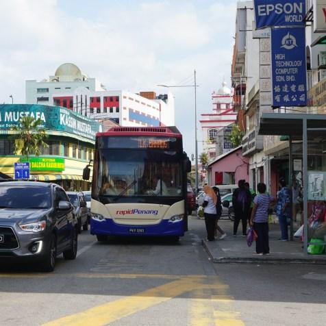 Rapid Penang BRT bus