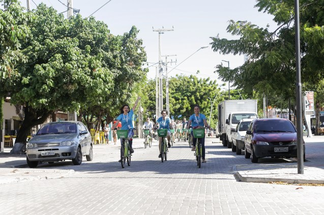 MOBILIZE Attendees were offered cycling tours of the new cycling infrastructure in Fortaleza.