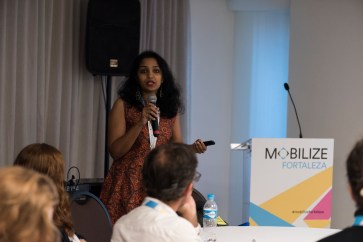 Aswathy Dilip of ITDP India explained the changes made to increase bicycle usage in India.