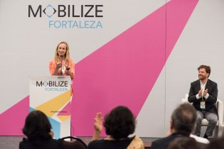 Heather Thompson, ITDP CEO proudly announced that Pune, India is the host for MOBILIZE in 2020.