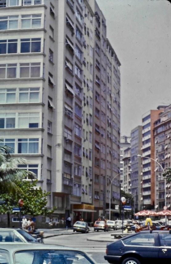 Apartment building in Rio de Janeiro