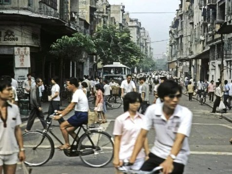 Cycling was served additionally by Guangzhou's warm climate.