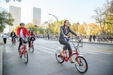 EcoBici is an ambitious and successful bikeshare program clocking 25,000 rides daily and with a rare gender balance among users.