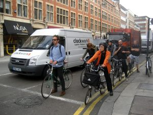 Cycling infrastructure is extensive in London, now includes over 900 kilometers of cycle paths.