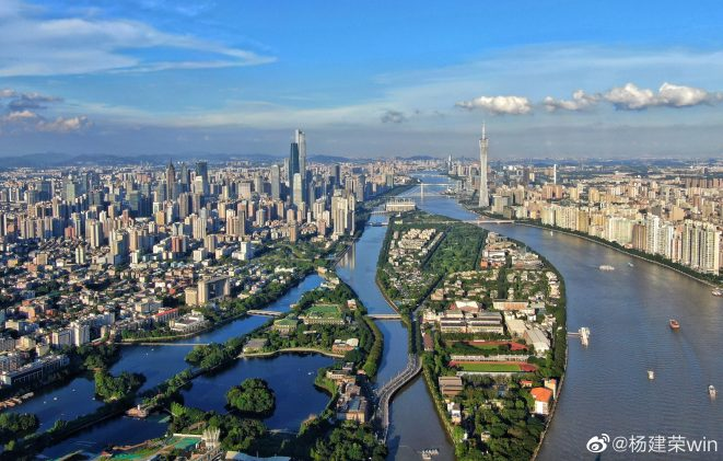 Today, Guangzhou is home to 13 million people.