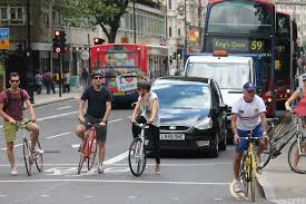 One of London's commitments to cycling fall along the the city's commitment to more sustainable transit and better air quality.