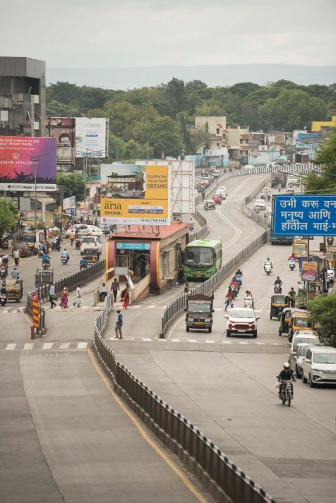 However, the lessons from these early trials and those of other Indian cities helped guide the 2015 inauguration of the Rainbow BRT of Pune, for which ITDP India provided technical support.
