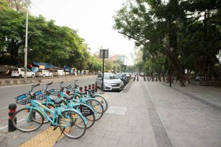 Pune has started a bike sharing program which it hopes to expand.