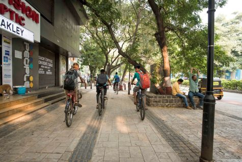 Safe infrastructure is crucial to increasing cycling in Pune.