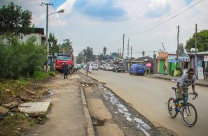 Inconsistent or poor walking and cycling infrastructure has been identified as an area for improvement in Ethiopia.