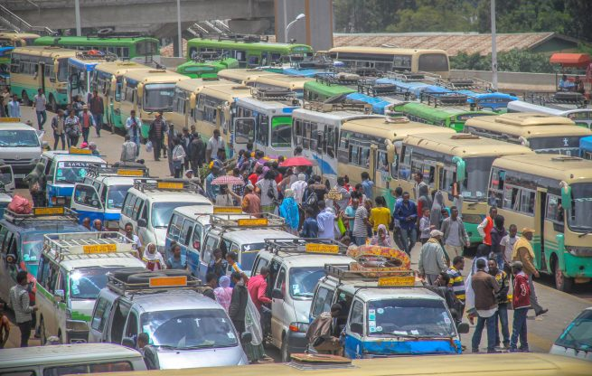 One of the major goals of Ethiopia's government is to move the country to a fully competitive economy, which includes strong public transportation.