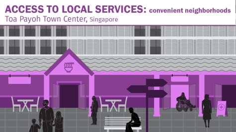 Mixed-use development reduces travel distances, making it easier for people to get places on foot. Mixing people, activities, and services not only supports the mobility of diverse users but also creates an active public.