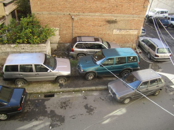 Unenforced and poor parking management leads to chaotic outcomes.