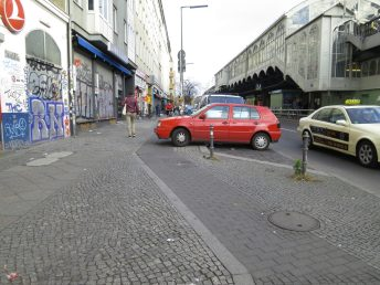 """""""Free"""" parking without restrictions can create an environment in which car drivers feel emboldened to break rules."""