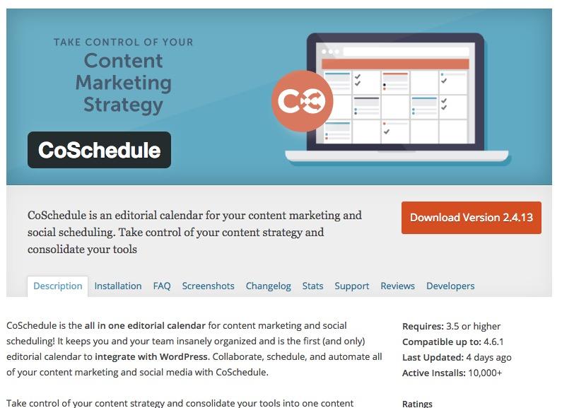 Best WordPress Calendar Plugin | Coschedule