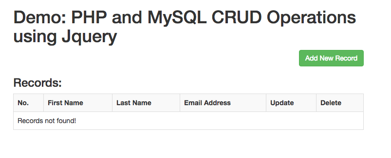 how to delete a row in mysql using php