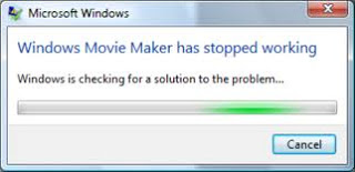windows movie maker has stopped working