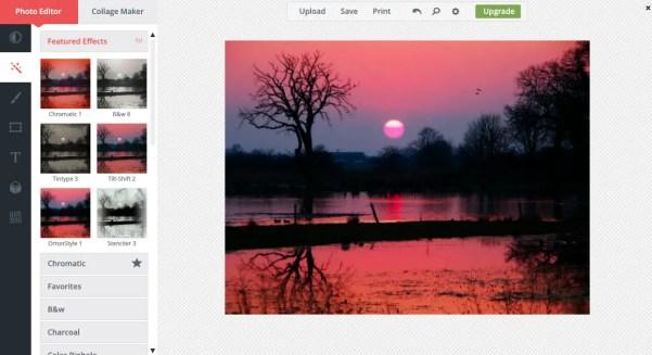 online photo editor BeFunky