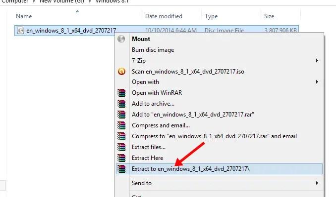 extract windows files