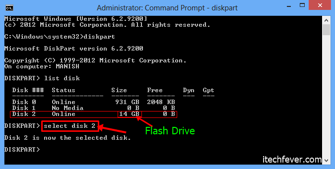 flash drive bootable