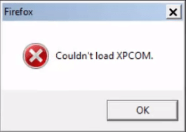 Couldn't load XPCOM – How to fix Mozilla Firefox Error