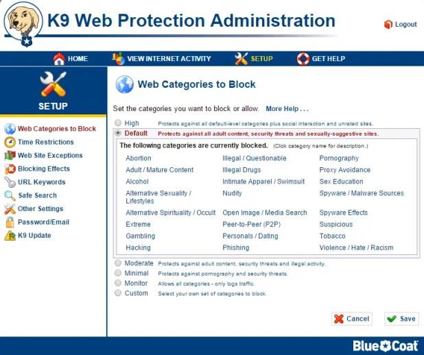 block website k9