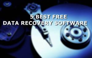 5 Best Free Data Recovery Software to Recover Lost Data Quickly