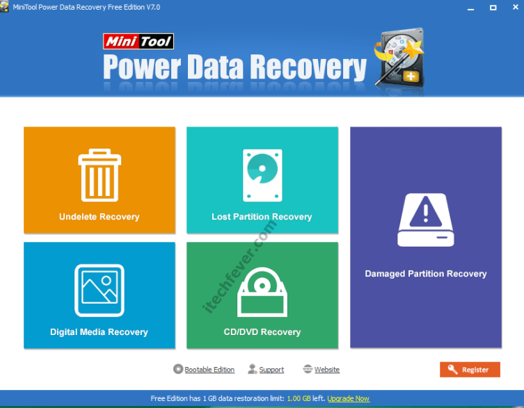 minitool power data recovery software
