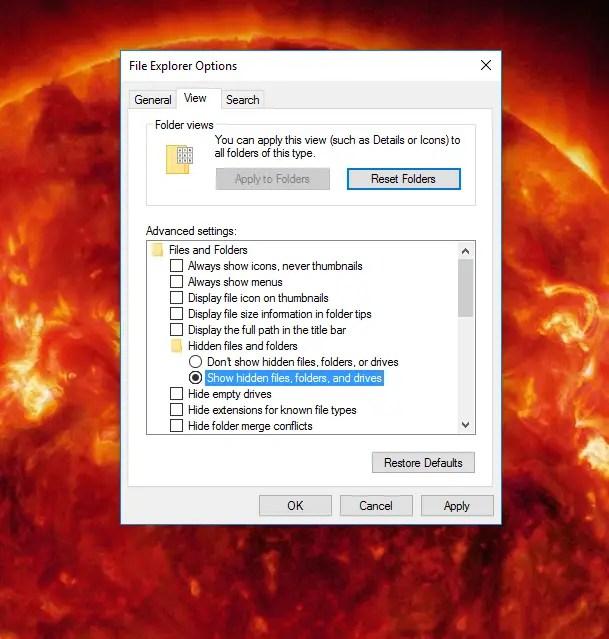 Fix Slow Running Windows 10