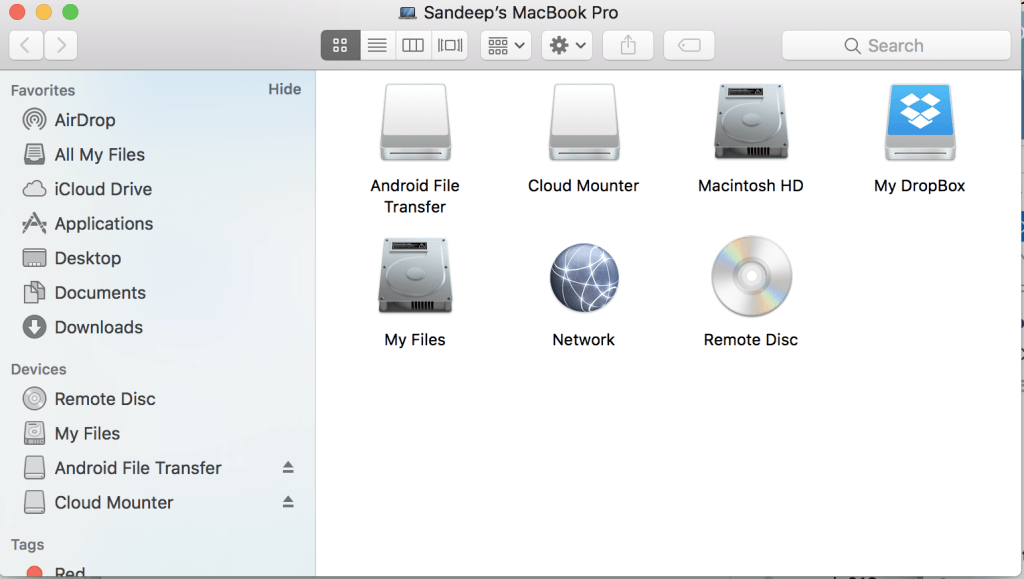 CloudMounter mac
