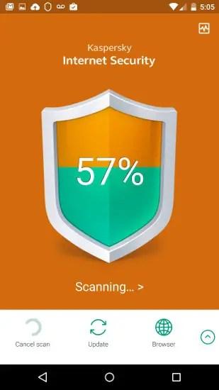 kaspersky mobile scan