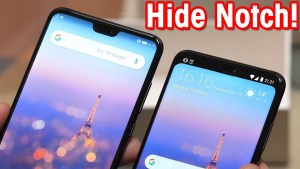How To Hide Display Notch with Nacho Notch?