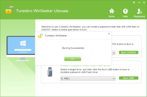 TuneBro WinGeeker Review -  Recover Forgotten Windows Passwords Easily