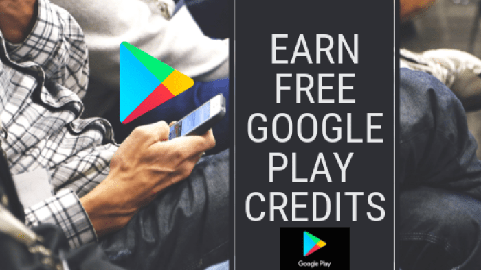 earn free google play credits