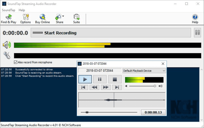 soundtap audio recorder