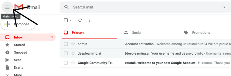 gmail all mail