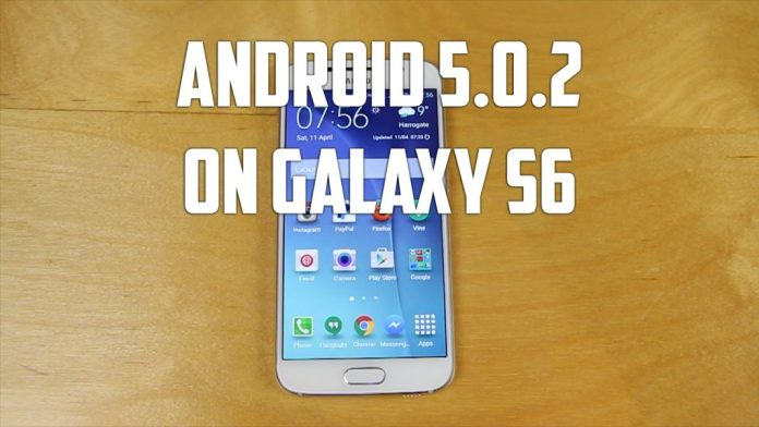 Install Android 5.0.2 on Galaxy S6
