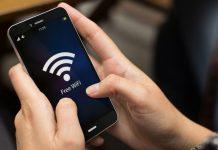 Share WiFi password as QR code