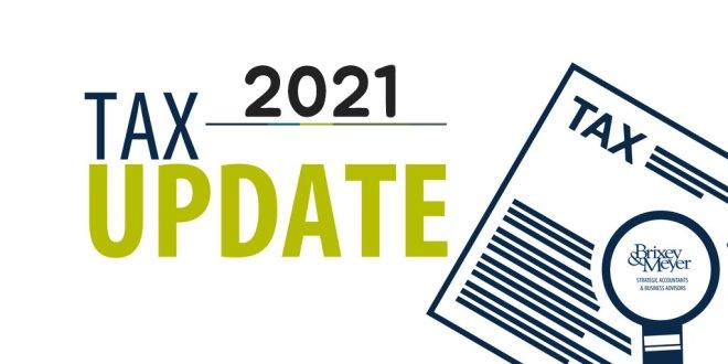 [Tax]2021년 세금보고 업데이트 – IRS 공지사항