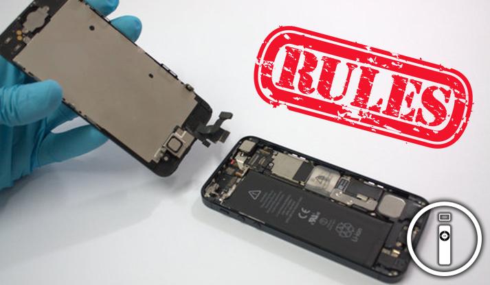 Apple: riparazioni di terze parti e garanzia