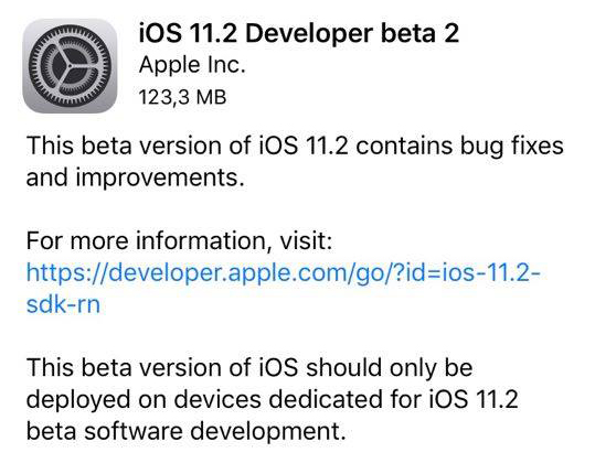 Disponibile iOS 11.1.1