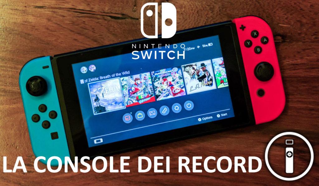 Nintendo Switch: ad ora vendute più di 10 milioni di unità