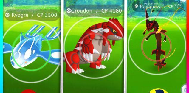 Pokémon Go leggendari di terza generazione