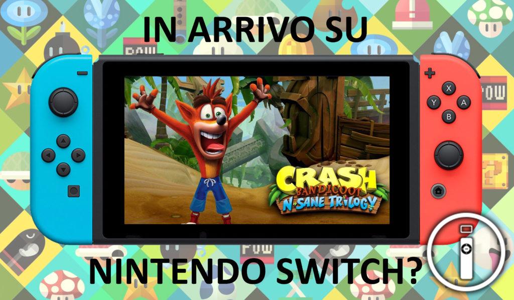 Spunta un nuovo indizio sulla versione Switch di Crash Bandicoot: Nsane Trilogy