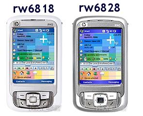 HP iPAQ rw6818/rw6828