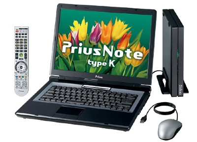 Hitachi Prius Note type K Laptops
