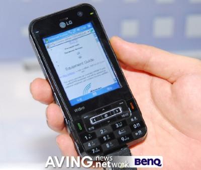 LG KC1 WiMAX PDA Phone