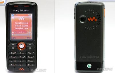 SonyEricsson W200i walkman