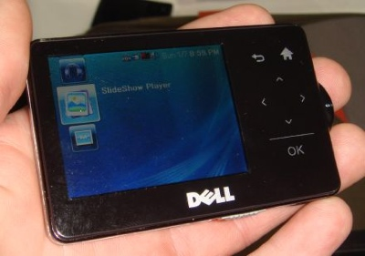 Dell's MP3 player with SideShow support